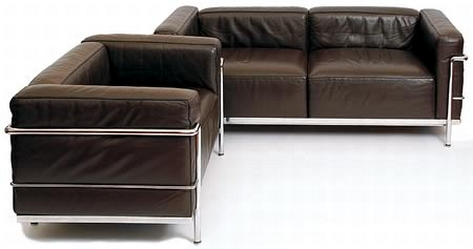 Le Corbusier Lc3 Sofa And 20th Century And Traditional Design