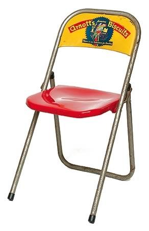 Arnott 39 S Metal Folding Chair Australian Icons Shapiro Auctioneers