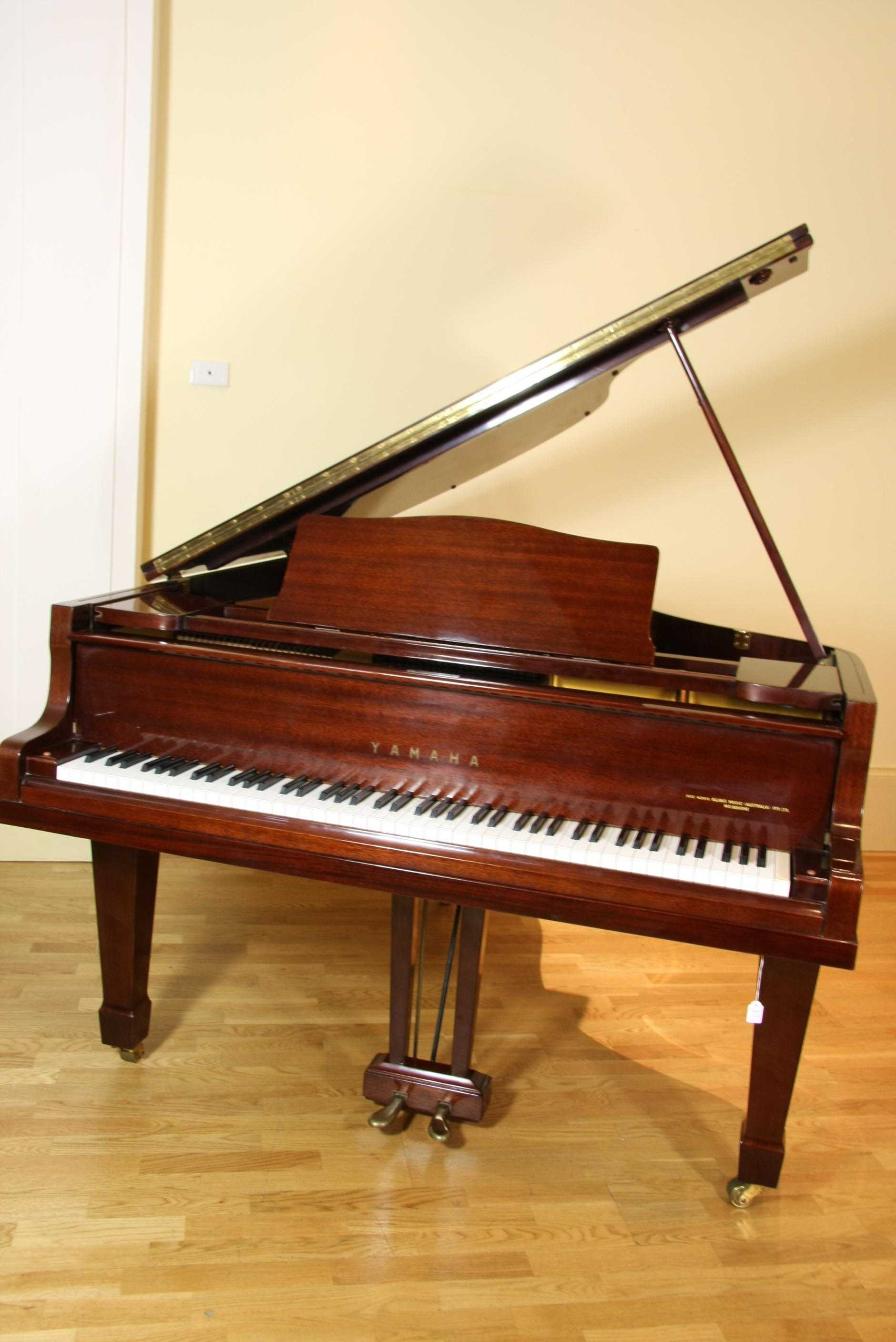 Yamaha Baby Grand Piano With A Antiques Amp Decorative