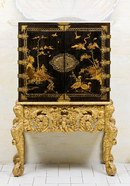 Charles Ii Japanned Chinoiserie The Nancy Hall