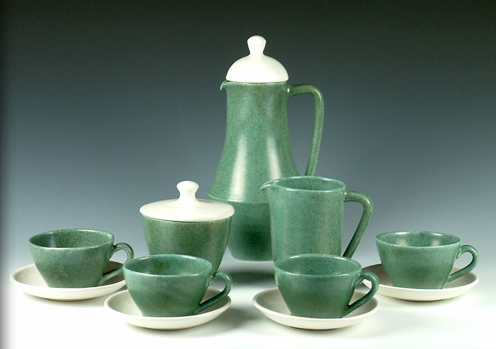 Guy Boyd Pottery Coffee Set Australian Studio Ceramics