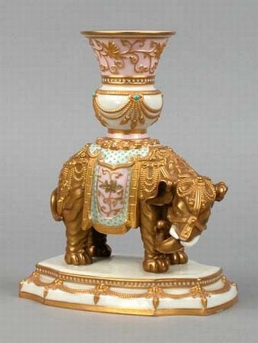 Royal Worcester Elephant Vase The Alex Mcewin Estate Day 1