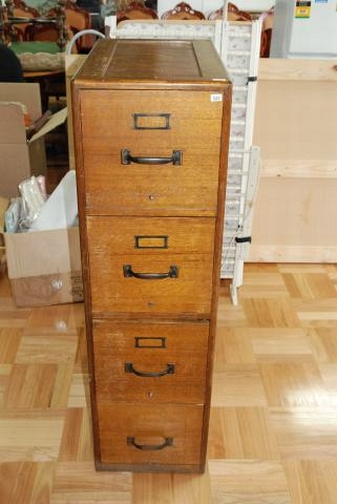 A Four Drawer Timber Filing Adelaide Auction Bonhams