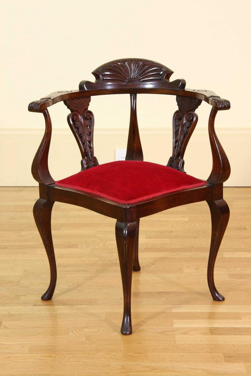 An Art Nouveau Corner Chair Fine Amp Decorative Arts