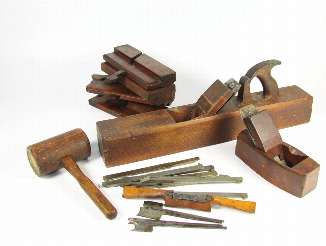 Antique wood Woodworking tools… - The Best of Florence Court, Day 2 - Dunbar Sloane Ltd ...