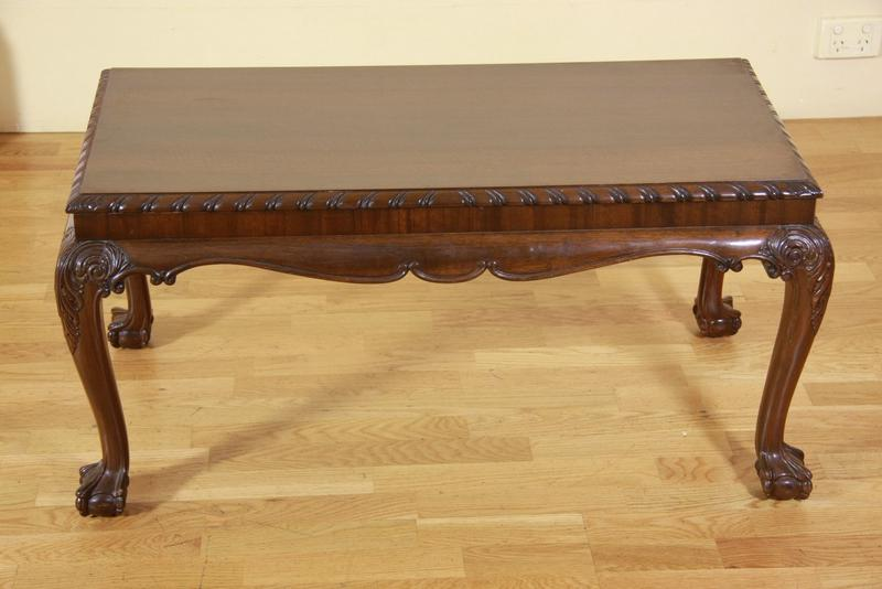 A Chippendale Coffee Table Fine Decorative Arts Philips Auctions Australia Antiques