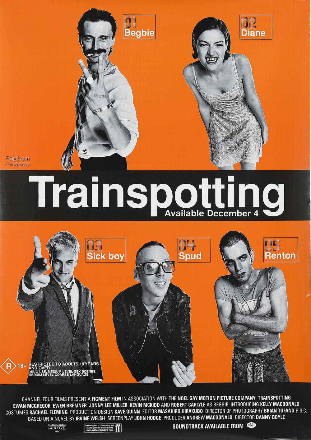 Trainspotting Channel four… - Collectables - Bonhams ...