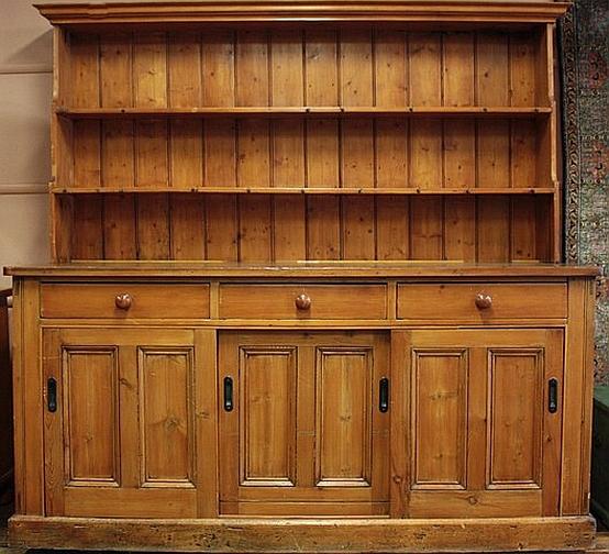 Australian Pine Kitchen Dresser