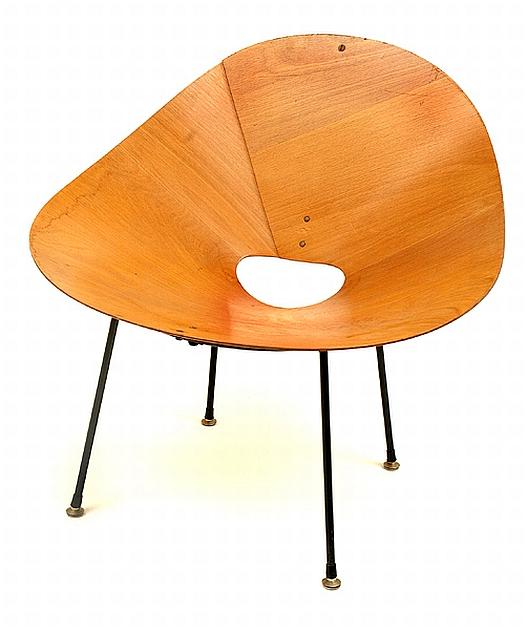 A Roger Mclay Kone Chair Decorative Arts Amp Furniture Leonard Joel Pty Ltd