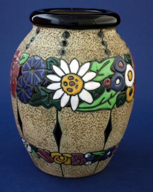 Czechoslovakian Amphora Rose Special Antique Sale Youngs