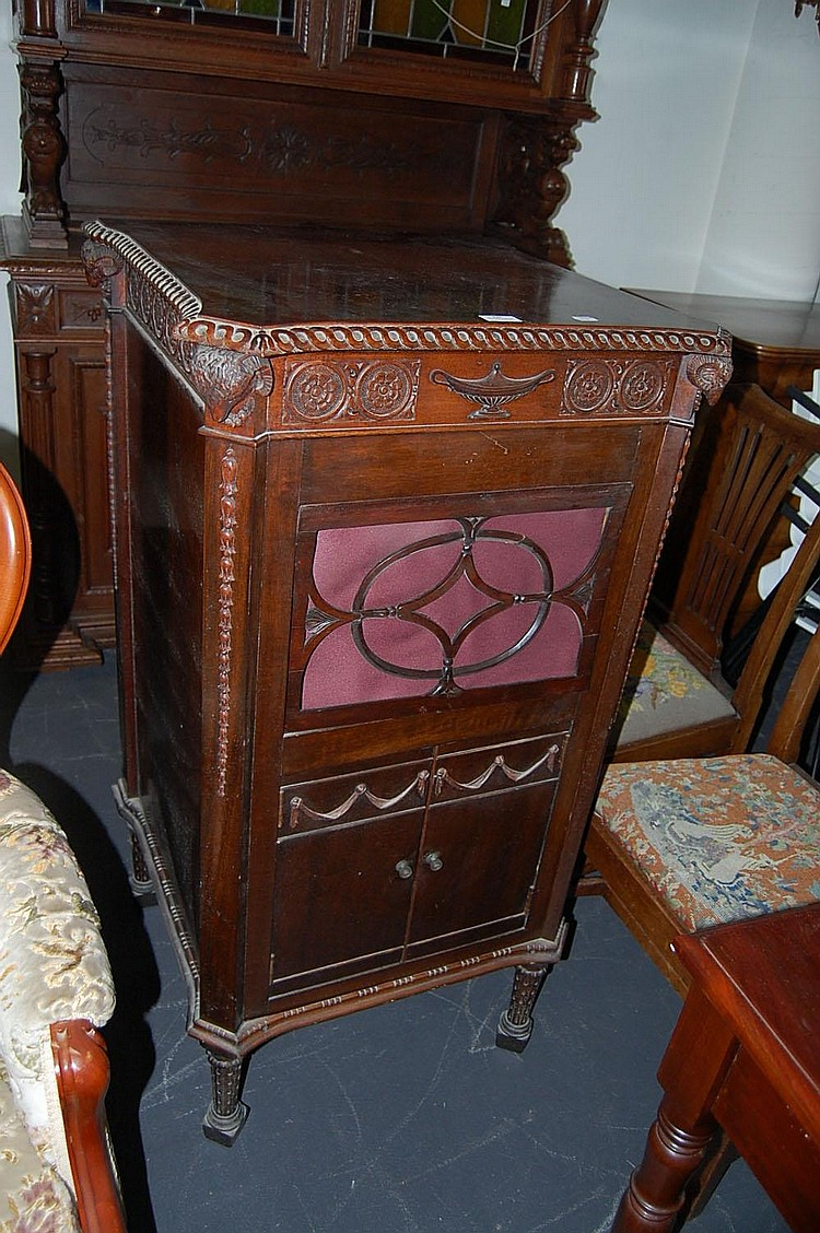 Vintage gramophone cabinet with… - Vintage Gramophone Cabinet With… - Antiques & Decorative Arts