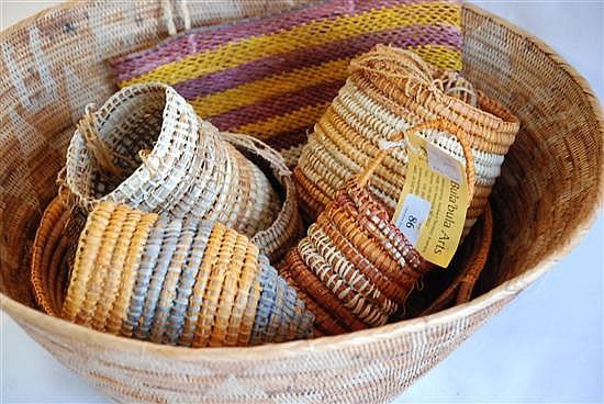 Basket Weaving Adelaide : A bula arts pand aboriginal art artifacts