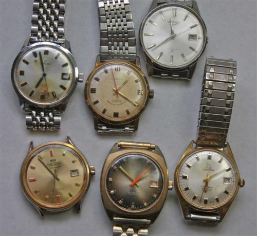 Six Assorted Watches A 23 Fine Amp Decorative Arts