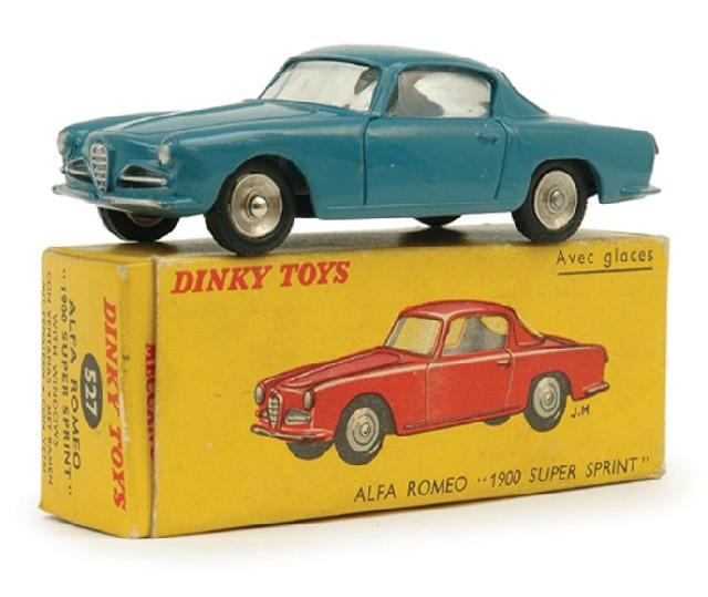 French Dinky 527 Alfa Romeo…
