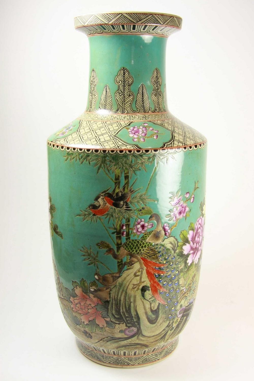 A Chinese Floor Vase Bearing Fine Amp Decorative Arts