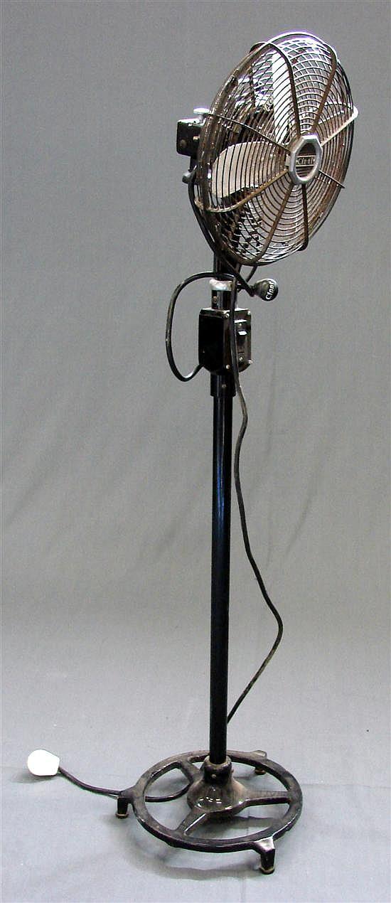 Vintage Pedestal Fan : A vintage cinni pedestal fan in… modern design