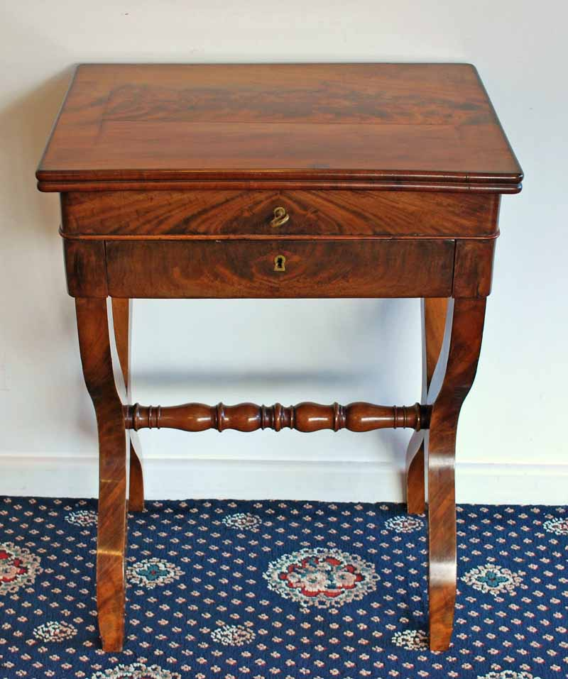 French Empire Work Table 19th Decorative Arts Jewellery And Furniture Mckenzies