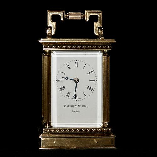 Matthew Norman Carriage Clock Fine Art Jewellery