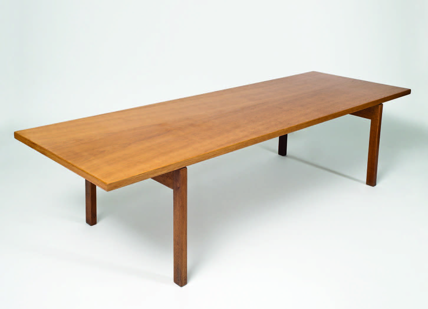 Hans Wegner Oak Coffee Table The Ross Morrison Collection Art Object Antiques Reporter