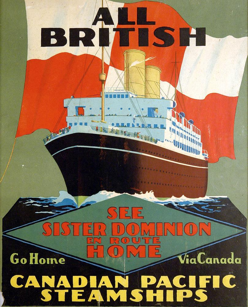 A Vintage Travel Poster For…