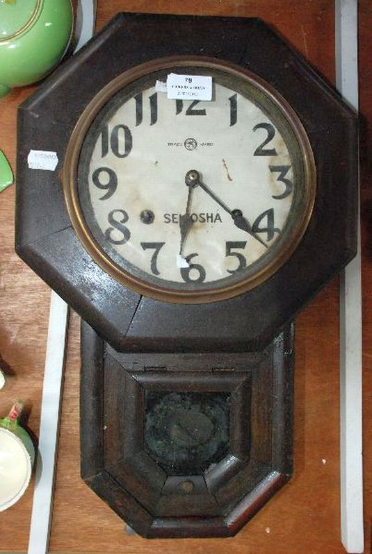 Seikosha Wall Clock Antiques Amp Collectables Vickers