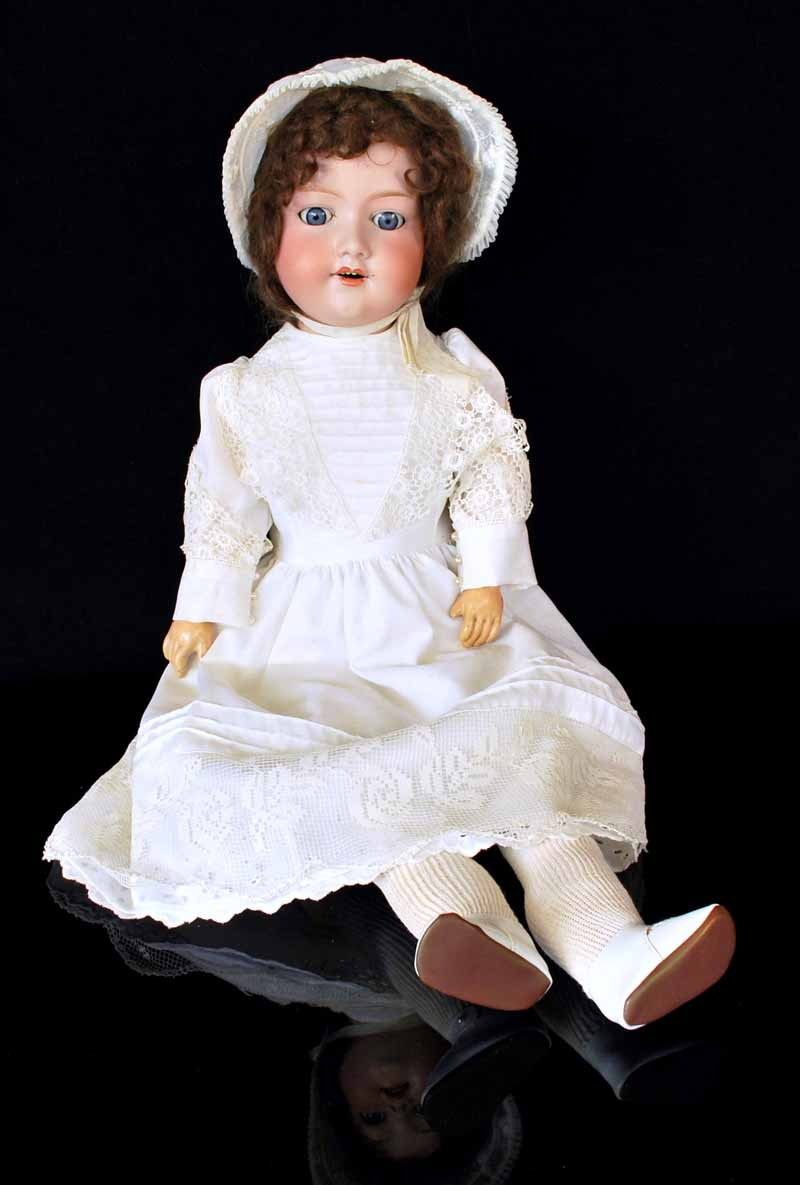Vintage child rocking chair - Armand Marseille Doll C 1900 Images Frompo