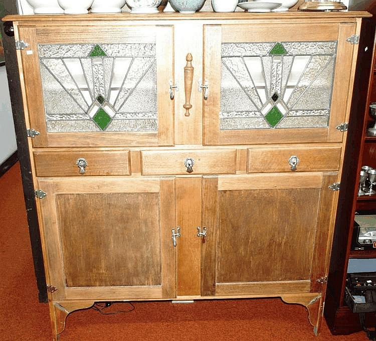 Art Deco Kitchen Dresser, With…