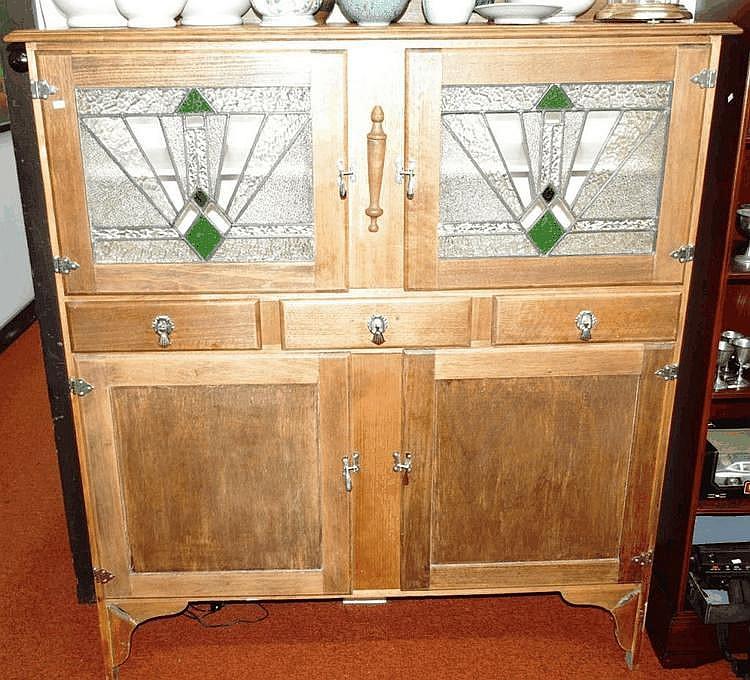 Art Deco Kitchen Dresser, With…