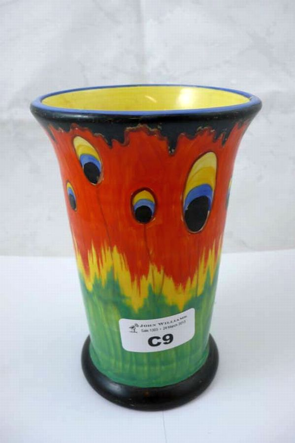 Crown Ducal Firefly Vase Antiques Collectables John