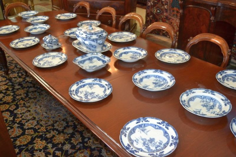 Spode 39 landscape 39 copeland part antique and period for Oriental furniture adelaide