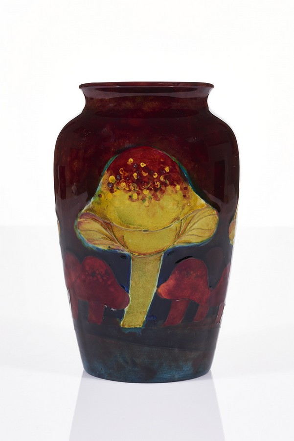 William Moorcroft Flambe Vase An Important Collection Of