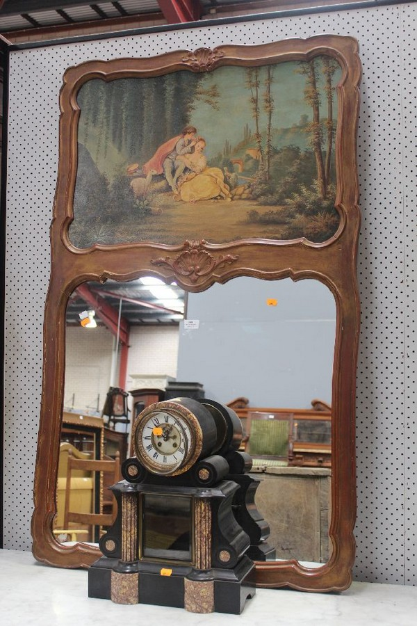French pier mirror 110 cm high antiques collectables for Mirror 80cm wide