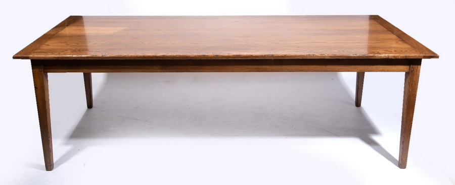 Rustic Fruitwood Dining Table The Private Collection Of