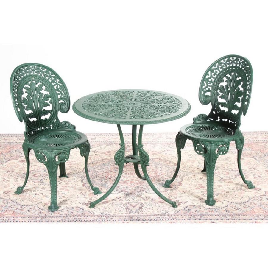 Cast iron outdoor garden table… - Traditional European ...