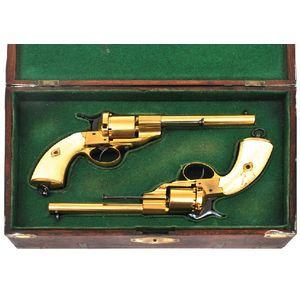 Firearms - Pistols - Militaria & Weapons - Leonard Joel Pty