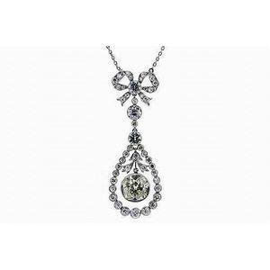 9ct Yellow Gold 0.44ct Emerald /& Diamond Classic Cluster Pendant on 45cm Chain