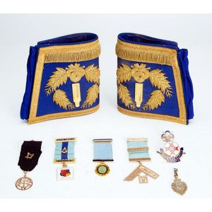 Masonic Regalia - Recreations & Pursuits - Page 2 - Antiques Reporter