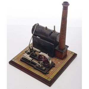 Made In Germany New Quality First Au-special Wilesco D16 New Toy Steam Engine