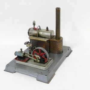 Made In Germany Au-special Wilesco D16 New Toy Steam Engine New Quality First