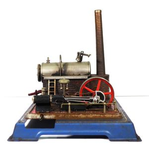 Au-special New Quality First Made In Germany Wilesco D16 New Toy Steam Engine