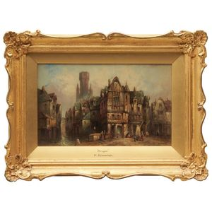 High Resilience 2 Edwardian Oak Picture Frames In Very Good Condition 27x 23 Cm